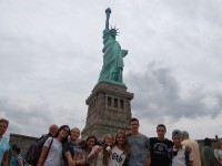 At the Statue of Liberty (3)