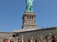 At the Statue of Liberty (4)