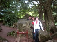 Blarney Castle - Witches stone