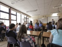 Juniors in Classroom