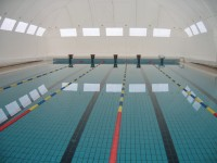 Larnaca Centre (heated swimming pool covered with air dome during winter)