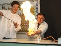 Chemistry class at KPS