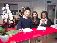 The University of Brighton's International College_Student Services Reception